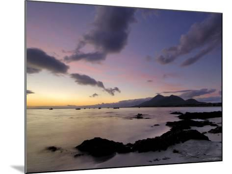 Dawn Over Clew Bay and Croagh Patrick Mountain, Connacht, Republic of Ireland (Eire)-Gary Cook-Mounted Photographic Print