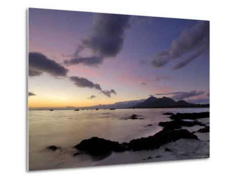 Dawn Over Clew Bay and Croagh Patrick Mountain, Connacht, Republic of Ireland (Eire)-Gary Cook-Metal Print