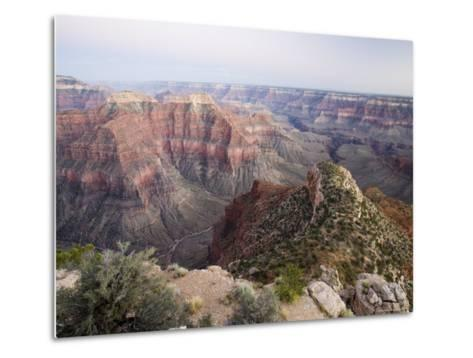 The View to the Southeast from Point Sublime after Sunset, Arizona, USA-James Hager-Metal Print