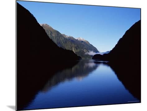 Doubtful Sound, Fiordland National Park, Unesco World Heritage Site, South Island, New Zealand-James Hager-Mounted Photographic Print