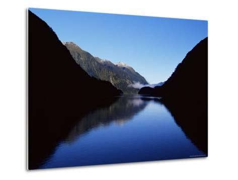 Doubtful Sound, Fiordland National Park, Unesco World Heritage Site, South Island, New Zealand-James Hager-Metal Print