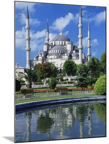 The Blue Mosque (Sultan Ahmet Mosque), Unesco World Heritage Site, Istanbul, Europe, Eurasia-Nico Tondini-Mounted Photographic Print