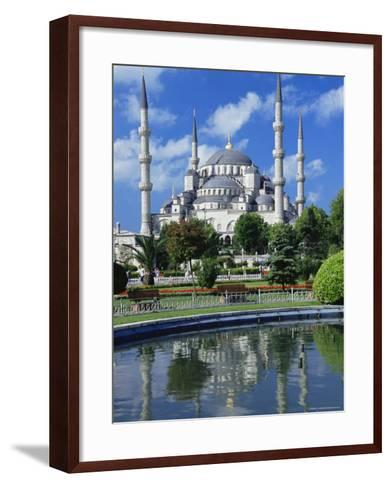 The Blue Mosque (Sultan Ahmet Mosque), Unesco World Heritage Site, Istanbul, Europe, Eurasia-Nico Tondini-Framed Art Print