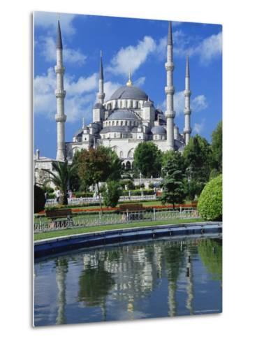 The Blue Mosque (Sultan Ahmet Mosque), Unesco World Heritage Site, Istanbul, Europe, Eurasia-Nico Tondini-Metal Print