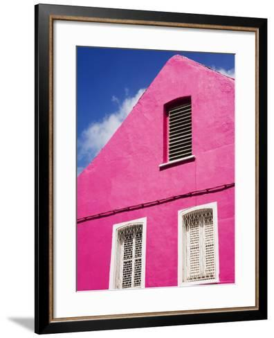 Pink Building on Republique Street, Fort-De-France, Martinique, French Antilles, West Indies-Richard Cummins-Framed Art Print