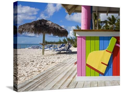 Bar Detail, Princess Cays, Eleuthera Island, West Indies, Caribbean-Richard Cummins-Stretched Canvas Print