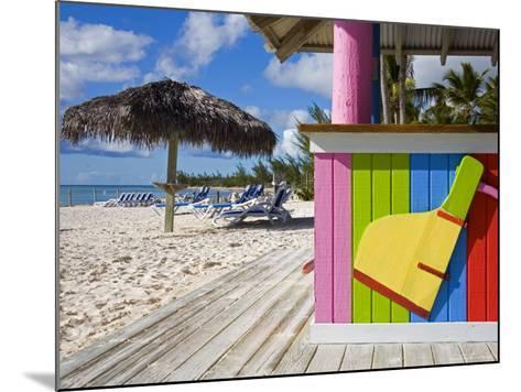 Bar Detail, Princess Cays, Eleuthera Island, West Indies, Caribbean-Richard Cummins-Mounted Photographic Print