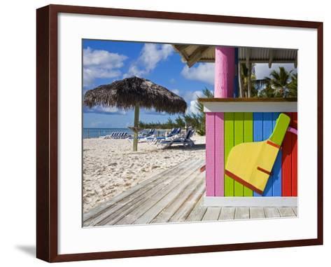 Bar Detail, Princess Cays, Eleuthera Island, West Indies, Caribbean-Richard Cummins-Framed Art Print