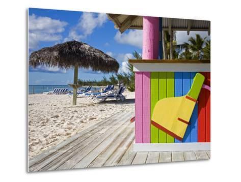 Bar Detail, Princess Cays, Eleuthera Island, West Indies, Caribbean-Richard Cummins-Metal Print