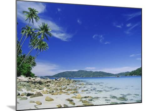 View from Kecil (Little) Towards Besar (Big), the Two Perhentian Islands, Terengganu, Malaysia-Robert Francis-Mounted Photographic Print