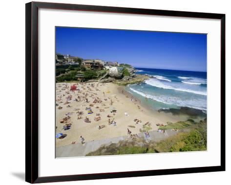 Tamarama, Fashional Beach South of Bondi, Eastern Suburbs, New South Wales, Australia-Robert Francis-Framed Art Print