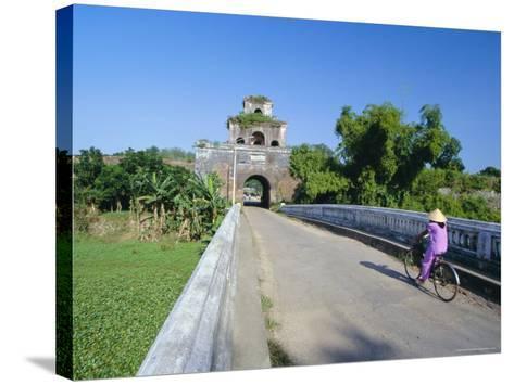 Walls of the Citadel, Historic Former Political Capital, Hue, Central Vietnam, Indochina-Robert Francis-Stretched Canvas Print