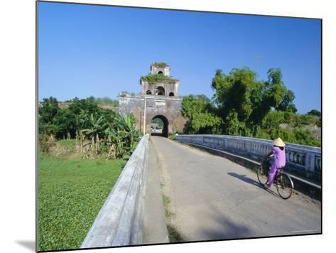 Walls of the Citadel, Historic Former Political Capital, Hue, Central Vietnam, Indochina-Robert Francis-Mounted Photographic Print