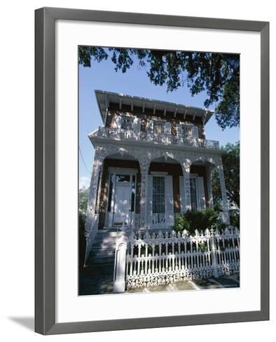 The 1860 Richards-Dar House, Alabama, USA-Robert Francis-Framed Art Print