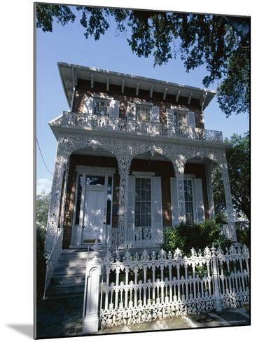 The 1860 Richards-Dar House, Alabama, USA-Robert Francis-Mounted Photographic Print