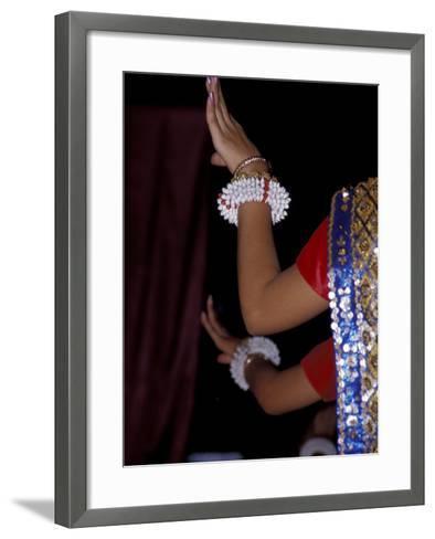 Dancers Hands, Siem Reap, Cambodia-Cindy Miller Hopkins-Framed Art Print