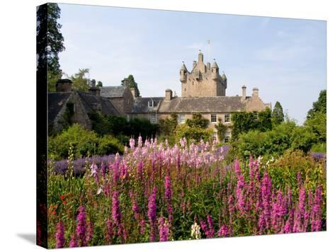 Gardens and Castle Called the Cawdor Castle, Cawdor, Scotland-Bill Bachmann-Stretched Canvas Print