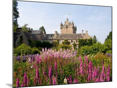 Gardens and Castle Called the Cawdor Castle, Cawdor, Scotland-Bill Bachmann-Mounted Photographic Print