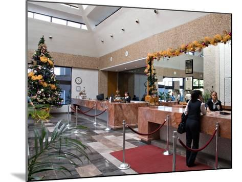 Lobby of the El Moro Beach Hotel, Mazatlan, Mexico-Charles Sleicher-Mounted Photographic Print