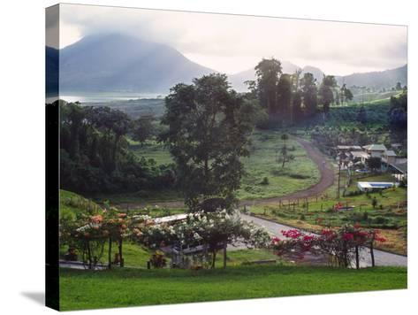 View from Arenal Vista Lodge, Alajuela, Costa Rica-Charles Sleicher-Stretched Canvas Print