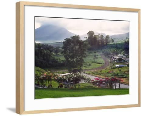 View from Arenal Vista Lodge, Alajuela, Costa Rica-Charles Sleicher-Framed Art Print