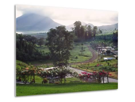 View from Arenal Vista Lodge, Alajuela, Costa Rica-Charles Sleicher-Metal Print