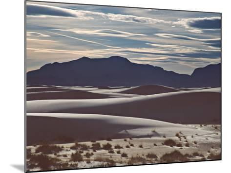 White Sands National Monument at Sunset, New Mexico, USA-Charles Sleicher-Mounted Photographic Print