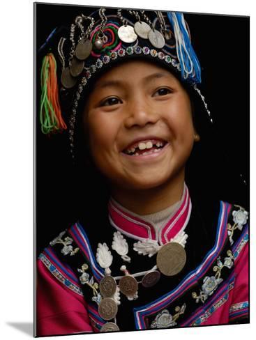 Hani People, Yuanyang, Honghe Prefecture, Yunnan Province, China-Pete Oxford-Mounted Photographic Print