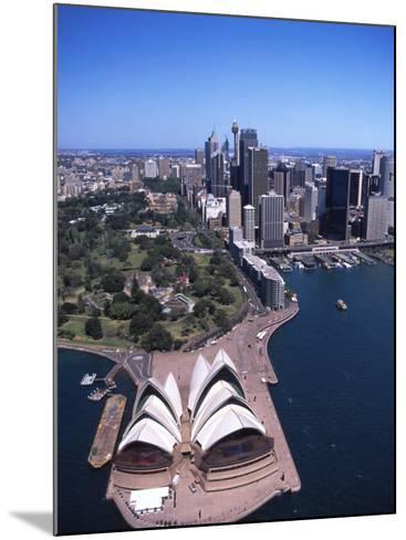 Opera House and Sydney Harbor Bridge, Australia-David Wall-Mounted Photographic Print