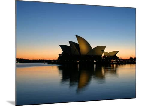 Sydney Opera House at Dawn, Sydney, Australia-David Wall-Mounted Photographic Print