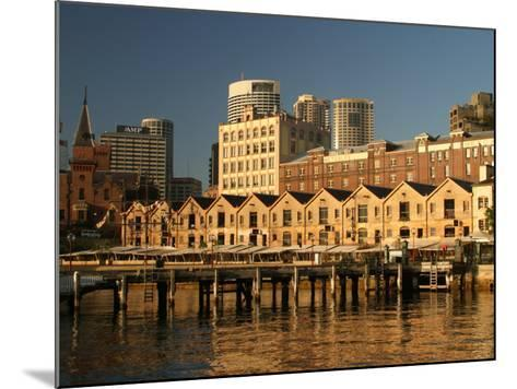 Historic Buildings, The Rocks, Sydney, Australia-David Wall-Mounted Photographic Print