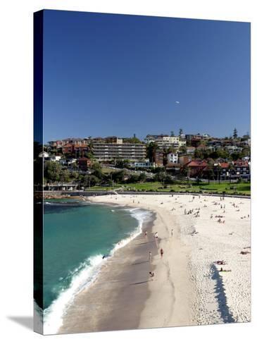 Bronte Beach, Sydney, Australia-David Wall-Stretched Canvas Print