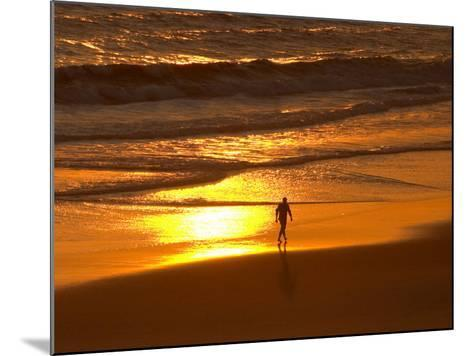 Sunrise, Coolangatta, Gold Coast, Queensland, Australia-David Wall-Mounted Photographic Print
