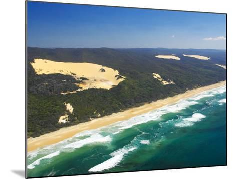 Seventy Five Mile Beach, Fraser Island, Queensland, Australia-David Wall-Mounted Photographic Print