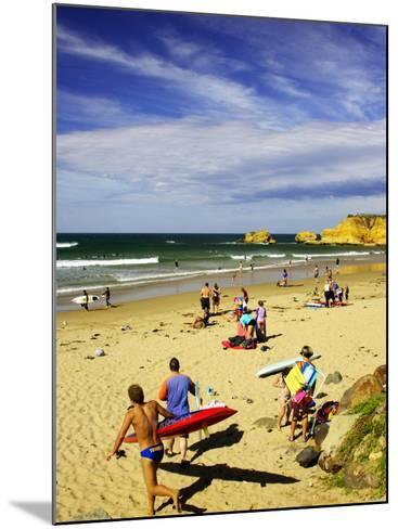 Crowds at the Beach, Torquay, Great Ocean Road, Victoria, Australia-David Wall-Mounted Photographic Print