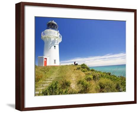 East Cape Lighthouse, Eastland, New Zealand-David Wall-Framed Art Print