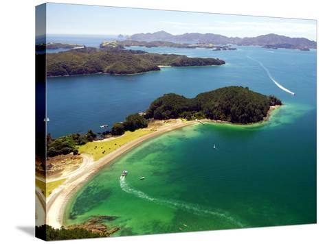 Motuarohia Island, Bay of Islands, Northland, New Zealand-David Wall-Stretched Canvas Print