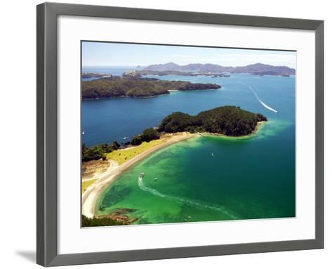 Motuarohia Island, Bay of Islands, Northland, New Zealand-David Wall-Framed Art Print
