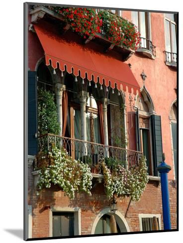 Villa Balcony, Venice, Italy-Lisa S^ Engelbrecht-Mounted Photographic Print