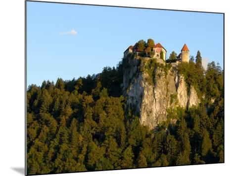 Lake Bled, Bled Castle on Hilltop, Bled, Slovenia-Lisa S^ Engelbrecht-Mounted Photographic Print