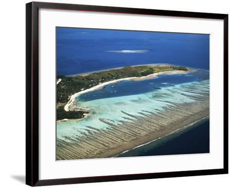 Mana Island, Mamanuca Islands, Fiji-David Wall-Framed Art Print