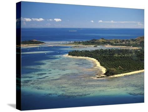 Malolo Lailai Island, Mamanuca Islands, Fiji-David Wall-Stretched Canvas Print