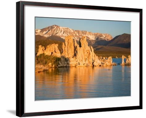 Tufas and Mono Lake, South Tufa Area, Mono Lake Tufa State Reserve, California, USA-Jamie & Judy Wild-Framed Art Print