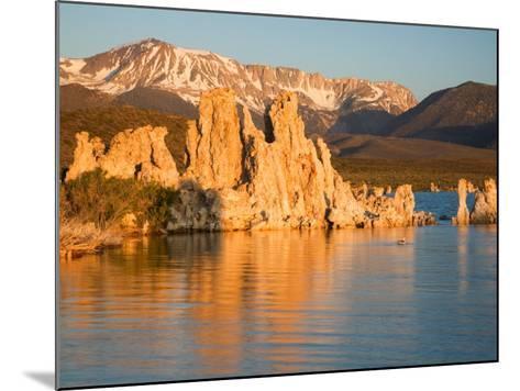 Tufas and Mono Lake, South Tufa Area, Mono Lake Tufa State Reserve, California, USA-Jamie & Judy Wild-Mounted Photographic Print
