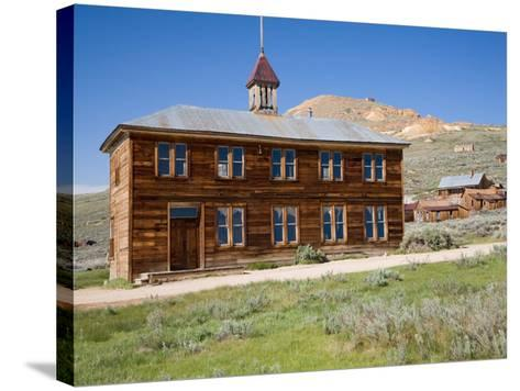 School House. Bodie State Historic Park, CA-Jamie & Judy Wild-Stretched Canvas Print