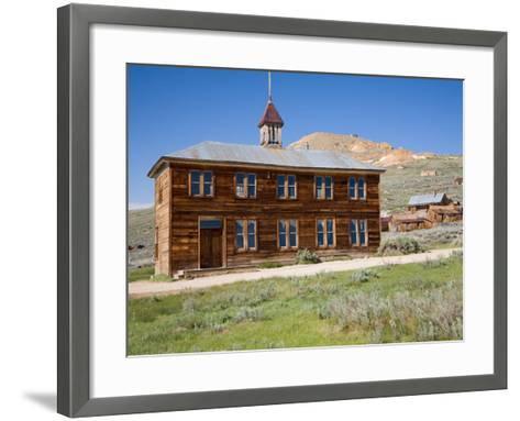 School House. Bodie State Historic Park, CA-Jamie & Judy Wild-Framed Art Print