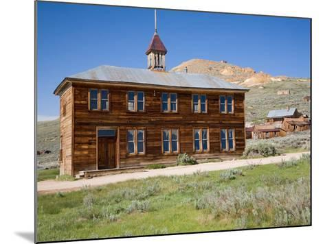 School House. Bodie State Historic Park, CA-Jamie & Judy Wild-Mounted Photographic Print