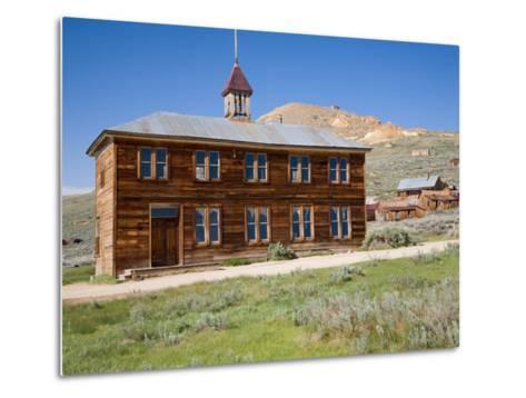 School House. Bodie State Historic Park, CA-Jamie & Judy Wild-Metal Print