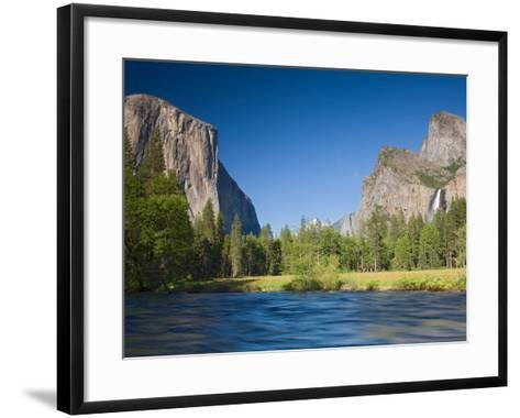 Valley View with El Capitan, Yosemite National Park, CA-Jamie & Judy Wild-Framed Art Print