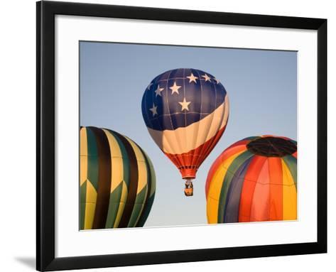 Launching Hot Air Balloons, The Great Prosser Balloon Rally, Prosser, Washington, USA-Jamie & Judy Wild-Framed Art Print